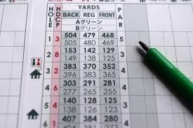 ゴルフが上達するスコアカード活用法ー自分分析で100を切る