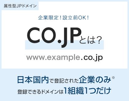 ドメイン取得なら安心と信頼の「.jp」「.co.jp」 | さくらのドメイン