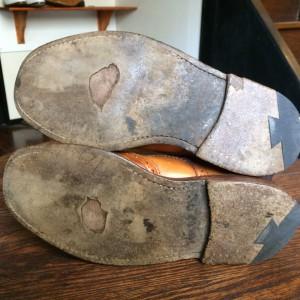 修理事例】TRICKER'Sオールソール|靴とバッグの本格メンテナンスなら ...