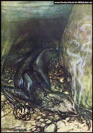 リントヴルム、北欧神話の悲しき(???)ドラゴン - waqwaq