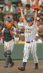 asahi.com:酒田南、決め球イケる 9回満塁バッテリー冷静 - 第87回 ...