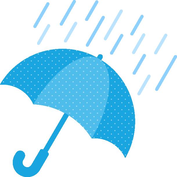 雨天(雨の天気)マークのイラスト | 無料フリーイラスト素材集【Frame ...