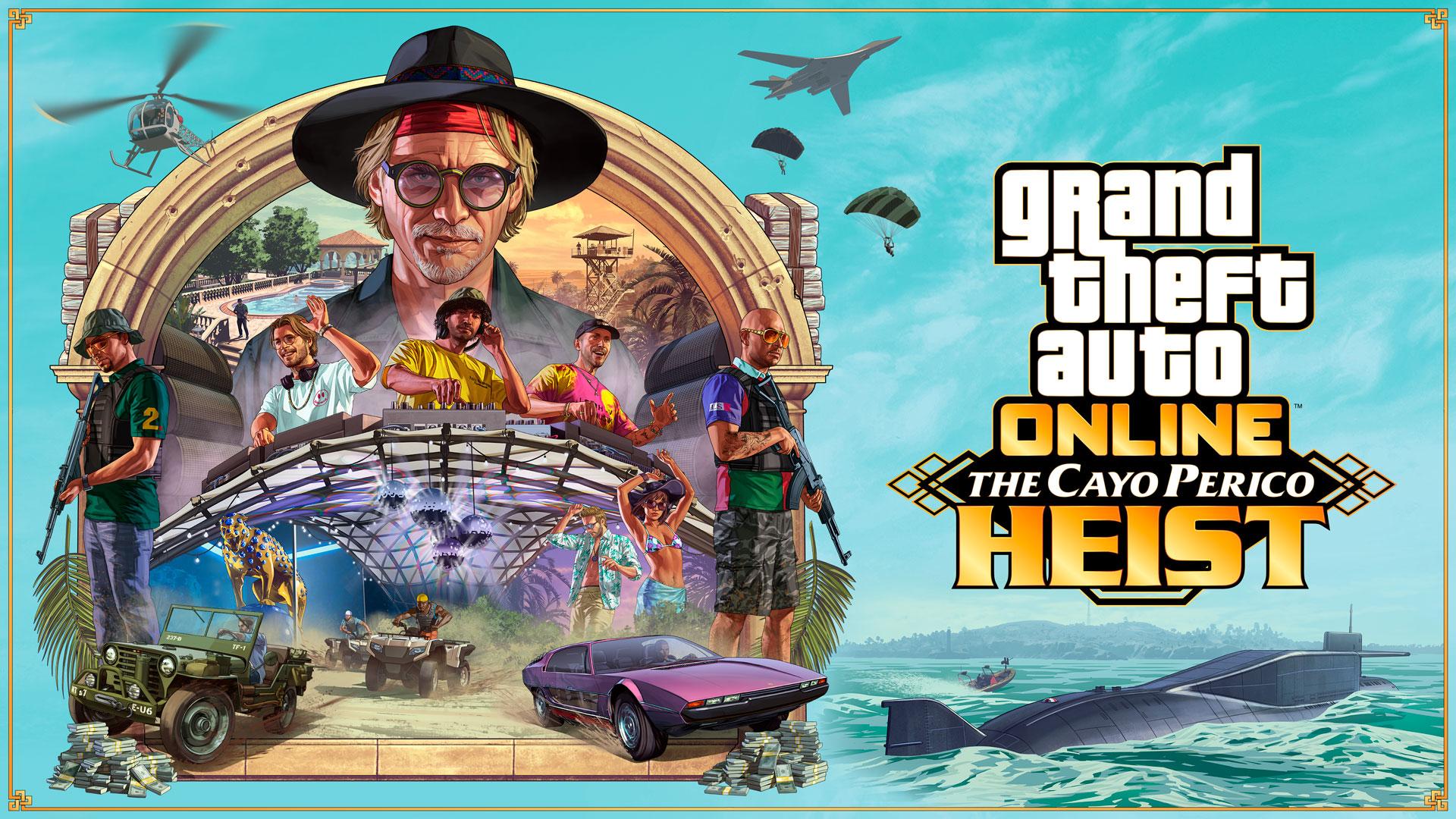 強盗:カヨ・ペリコ - Grand Theft Auto V(グランドセフトオート5)GTA5 ...