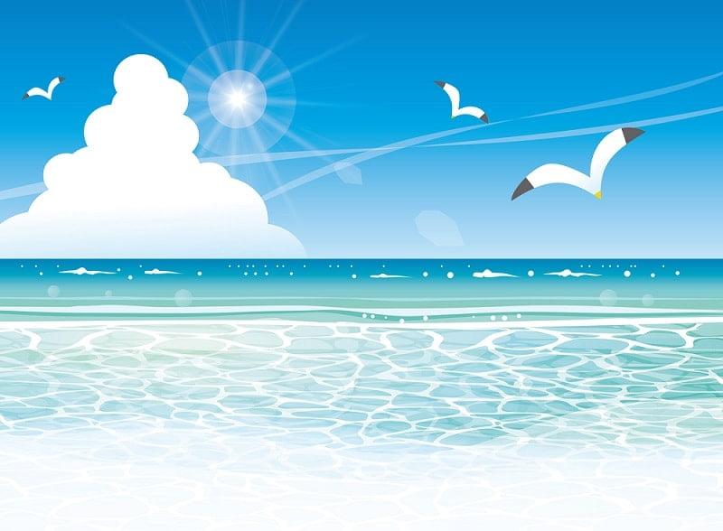 無料・フリー】夏休み・海など夏イラスト素材満載!   かわいい無料 ...
