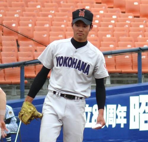 横浜・土屋健二は北海道日本ハム4位指名 : 神奈川高校野球ニュース