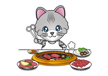 焼肉 かわいい】(イラスト)の画像素材 | 食べ物・飲み物・イラスト ...