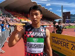 """日本陸上競技連盟 on Twitter: """"【#U20世界選手権】 男子100m準決勝 ..."""