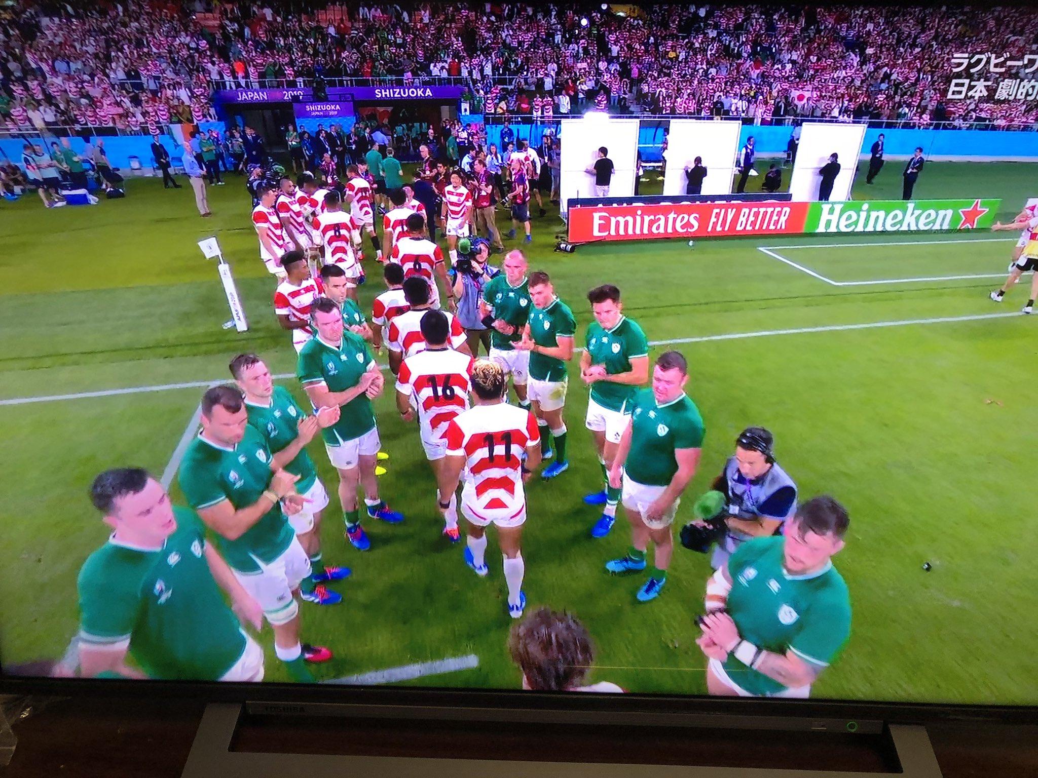 """タケオ on Twitter: """"#ラグビーワールドカップ2019 アイルランドが花道 ..."""