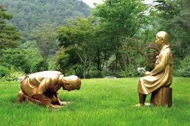 韓国自生植物園が公開予定の「永遠の贖罪」像が次回の「あいち ...