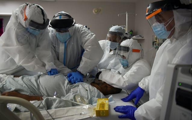 新型コロナ: 米コロナ入院患者、1カ月で倍増 医療設備の不足深刻: 日本 ...