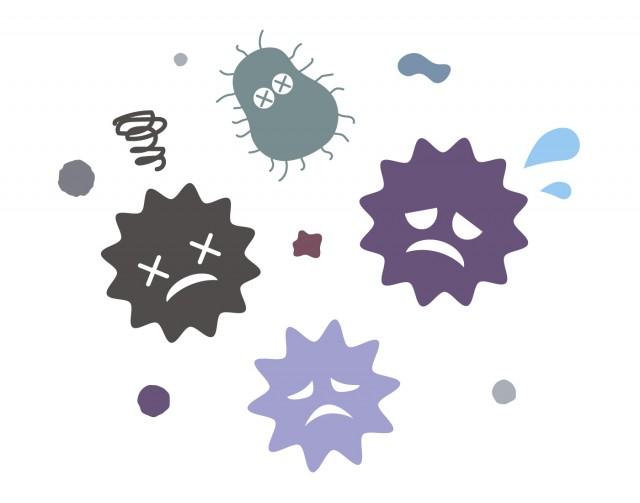 ウイルス3   無料イラスト素材 素材ラボ