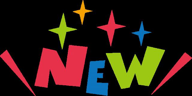 NEW 新発売☆ポップロゴ アイコン   無料イラスト素材 素材ラボ