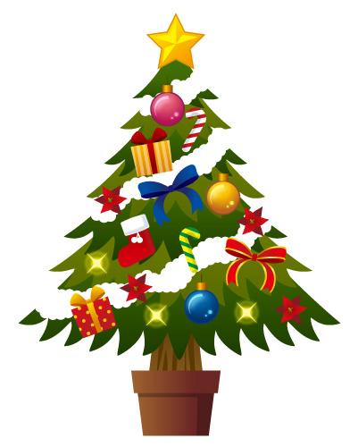 クリスマスツリー | 無料イラスト素材|素材ラボ