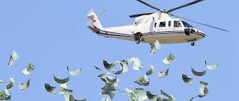 不況、なぜ「ヘリコプターのお金」ではないのか:お金が民間銀行口座に ...