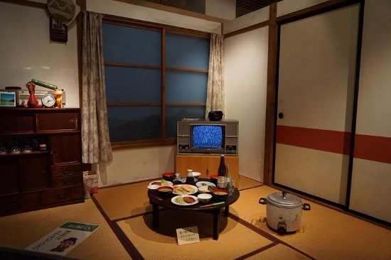 昭和時代の再現。ブラウン管のテレビが昭和っぽい - 白河市、福島県 ...