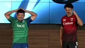 田中史朗「初代チャンピオンになれるように全力で頑張る」ラグビー新 ...