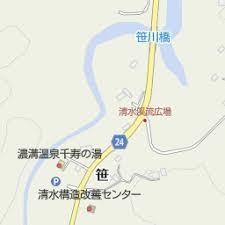濃溝温泉千寿の湯(君津市/日帰り温泉施設)の地図|地図マピオン