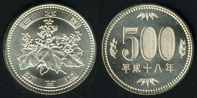 五百円硬貨 - Wikipedia