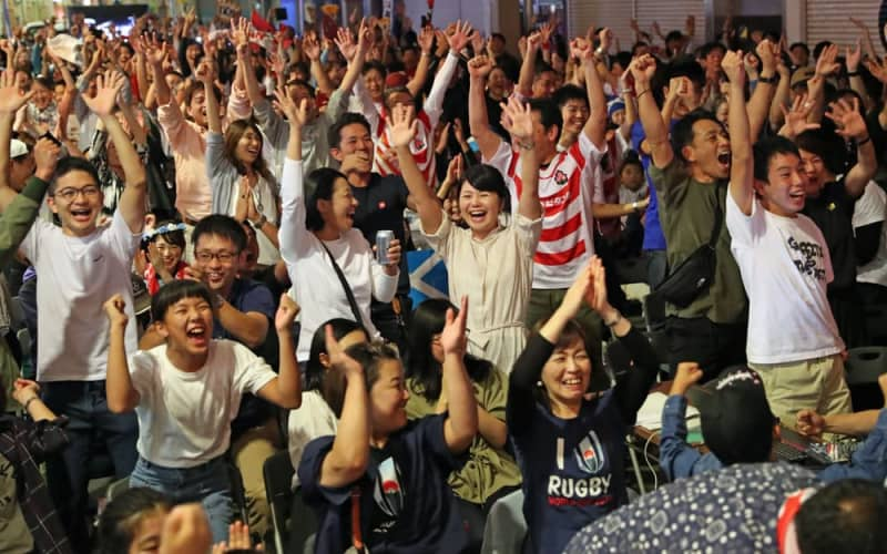ラグビーW杯 日本8強 長崎も歓喜 キャンプをしたスコットランドにも ...