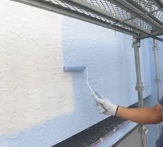 外壁塗装中塗りの色を変える注意点 | お役立ち記事 | 外壁塗装マイ ...