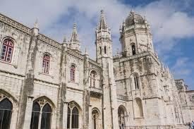 リスボンのジェロニモス修道院とベレンの塔 ポルトガル 世界遺産 ...