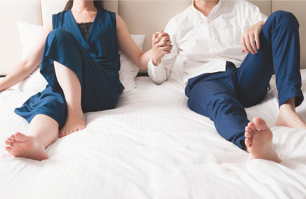 新婚カップルのベッド選び | 日本最大級のベッド専門店 ビーナスベッド
