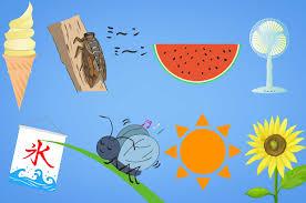 夏の無料イラスト - 暑い季節のイメージフリー素材 - チコデザ