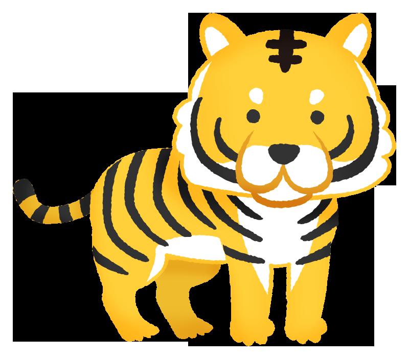 虎の無料イラスト | フリーイラスト素材集 ジャパクリップ