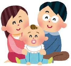赤ちゃんと家族のイラスト | かわいいフリー素材集 いらすとや