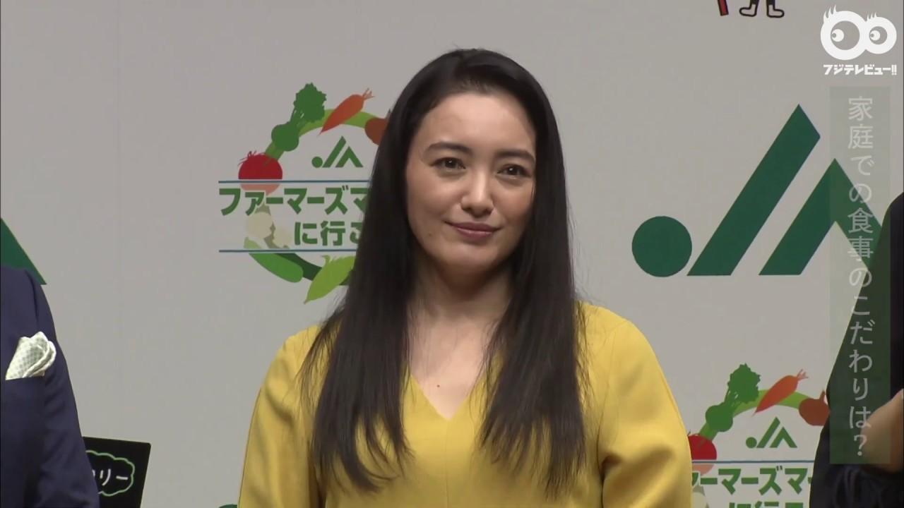 仲間由紀恵が出産後初の公の場に!自分に似ている野菜は? - YouTube