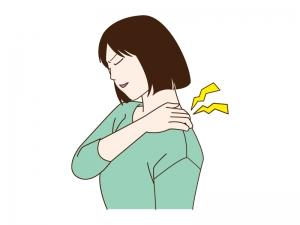 肩こりのイラスト | イラスト無料・かわいいテンプレート