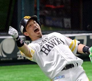 ソフトB松田35歳で35回熱男叫ぶ|【西日本スポーツ】