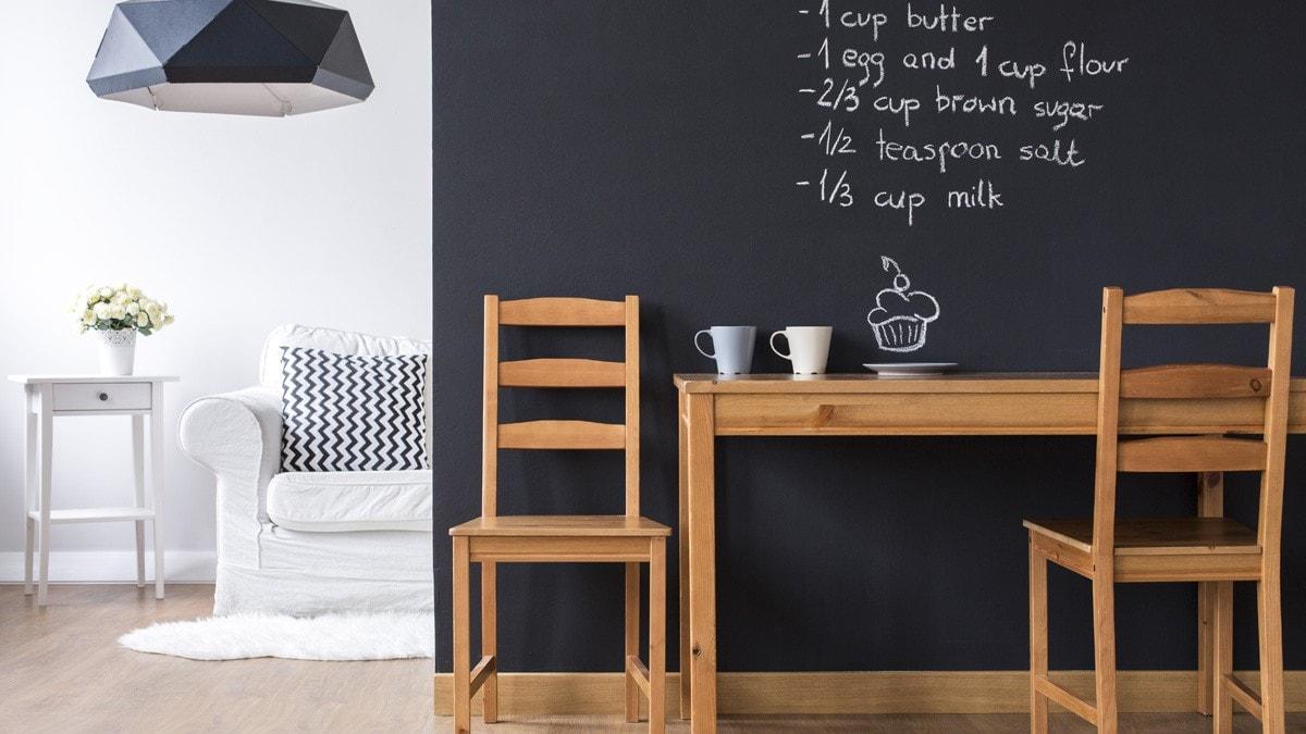 黒板塗装のDIY実例とおすすめ塗料|マグネット対応タイプも! - Best ...