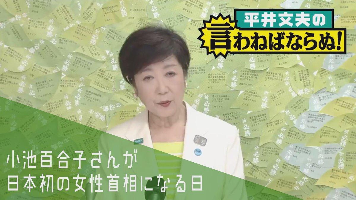 野党を分裂させ2大政党制をぶっ壊した小池百合子さんが日本初の女性 ...