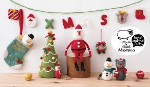 クリスマスアイテム | MOCOCO フェルトシリーズ | フェルトボールペン ...