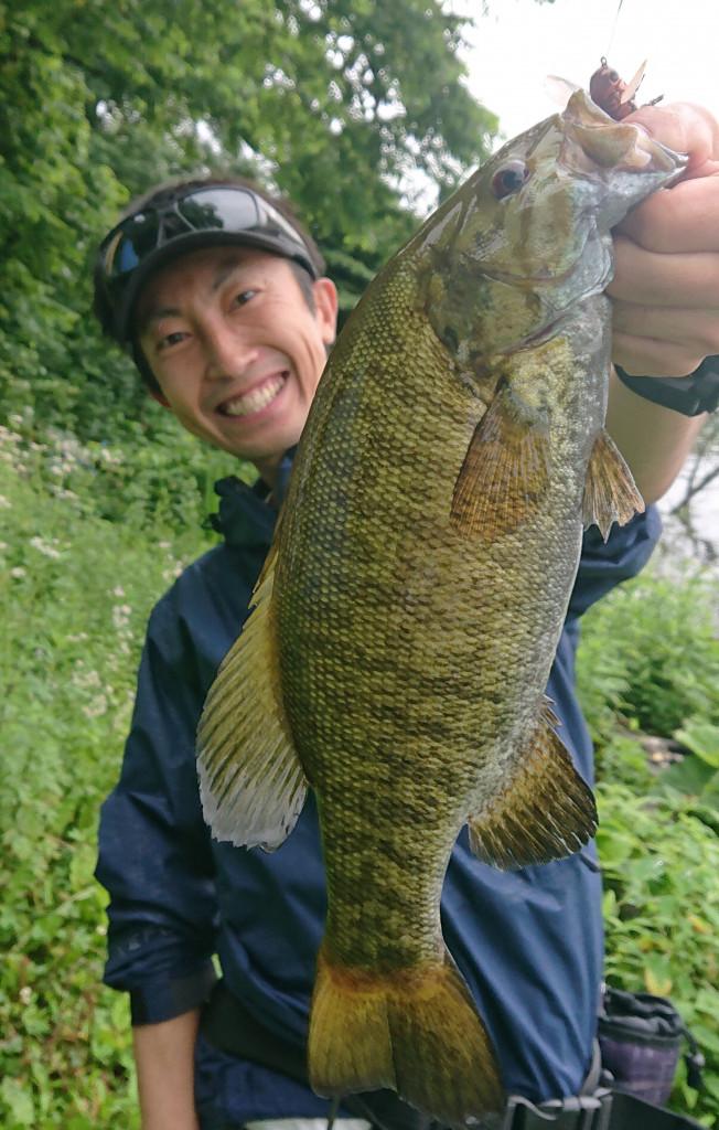 イシグロ半田店【40UPスモール連発!!】2019年野尻湖オカッパリ釣行 ...