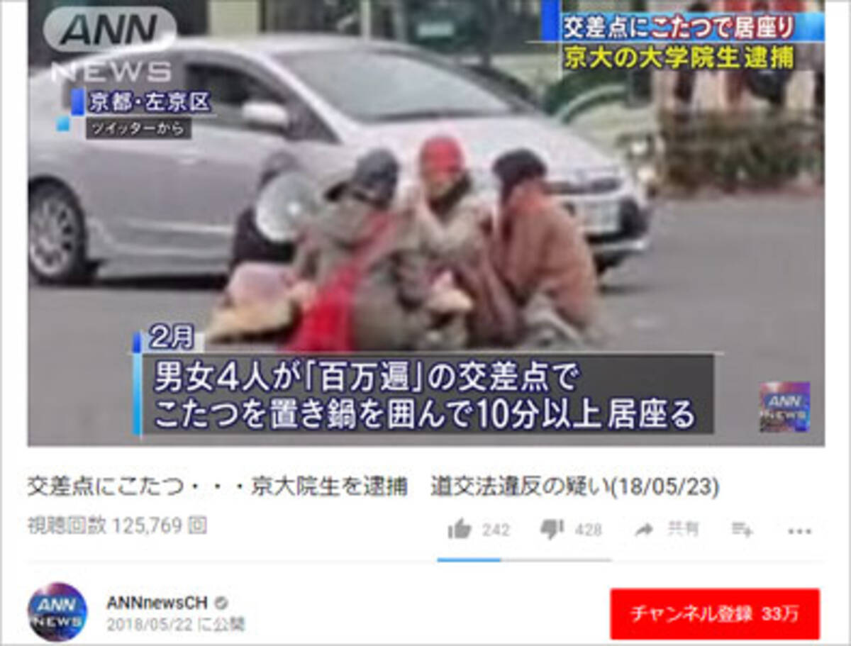 交差点でこたつを囲んだだけで逮捕! 弾圧が続く京都大学……大学当局の ...