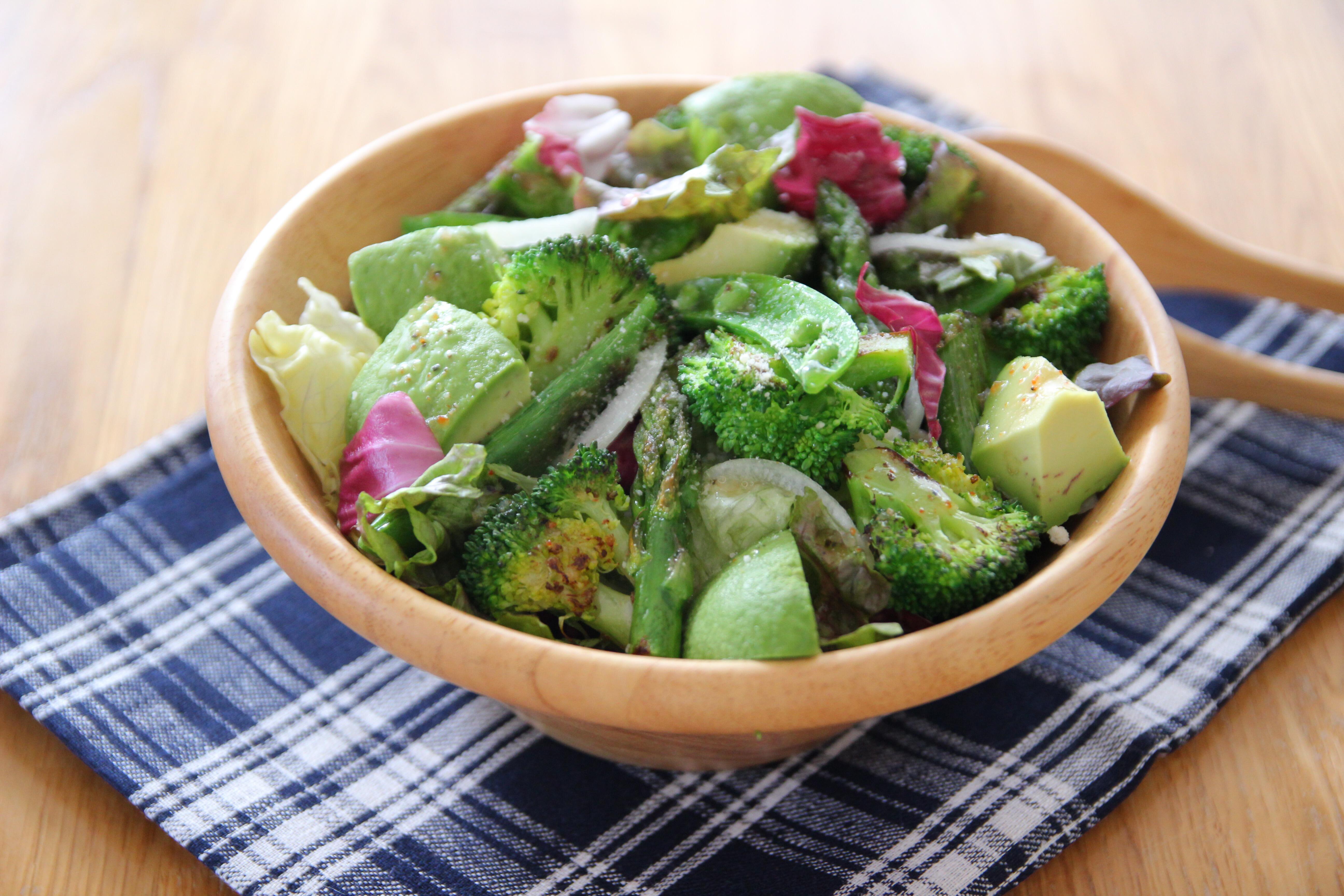 グリーンベイクド野菜のサラダボウル | レシピ | サラダクラブ