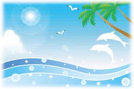 海 イラスト おしゃれでかわいい無料素材 海イラストのフリー画像