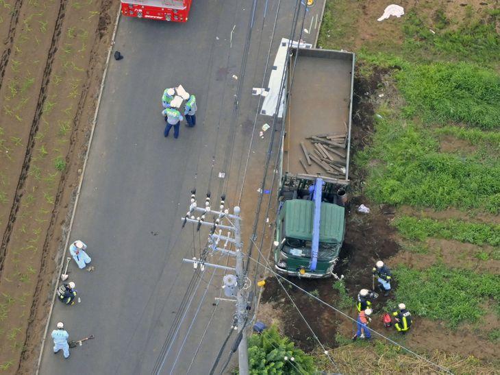 千葉のトラック事故、運転手を現行犯逮捕 - 産経ニュース