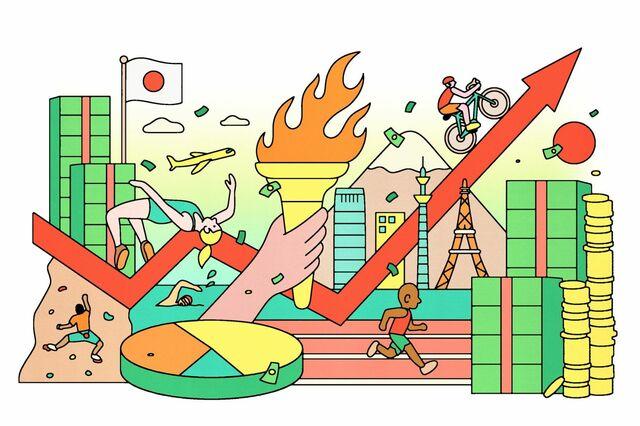 オリンピック開催」に突き進ませる6つの数字   The New York Times ...
