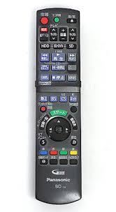 楽天市場】【中古】Panasonic ブルーレイディスクレコーダー用リモコン ...