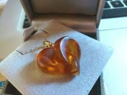 超格安一点 catenafabulous ambra giallo oro 9ct intrecciato cuore ...