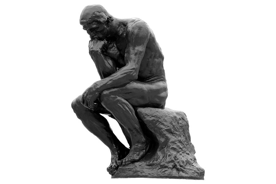 オーギュスト・ロダンの「考える人」は、一体何を考えているの ...