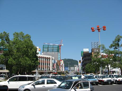 鳥取駅北口。とある過渡期の風景。 【2007年8月 鳥取県鳥取市】 | まち ...