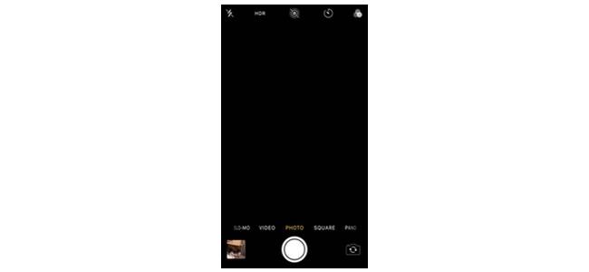 iOS 11.4のカメラで画面が映らず真っ暗な表示になる不具合が発生か ...