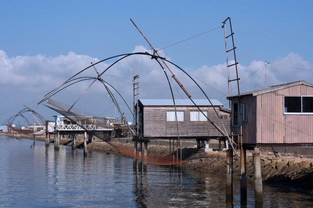 児島湾で四つ手網漁がシーズン 岡山で田舎暮らし