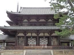 法隆寺中門と金堂 | 毘沙門天の世界
