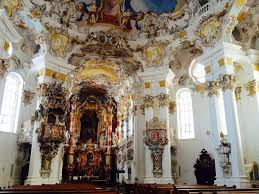 ドイツ・ロマンティック街道の奇蹟!ヴィースの巡礼教会 | ドイツ ...