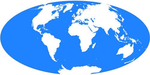 世界地図 無料(フリー)・旅行情報(時刻・天気・国旗):ワールド ...